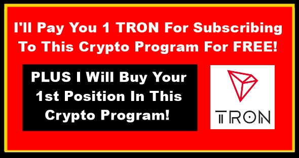 I pay you 1 tron black gold red banner 313X590 Image 1
